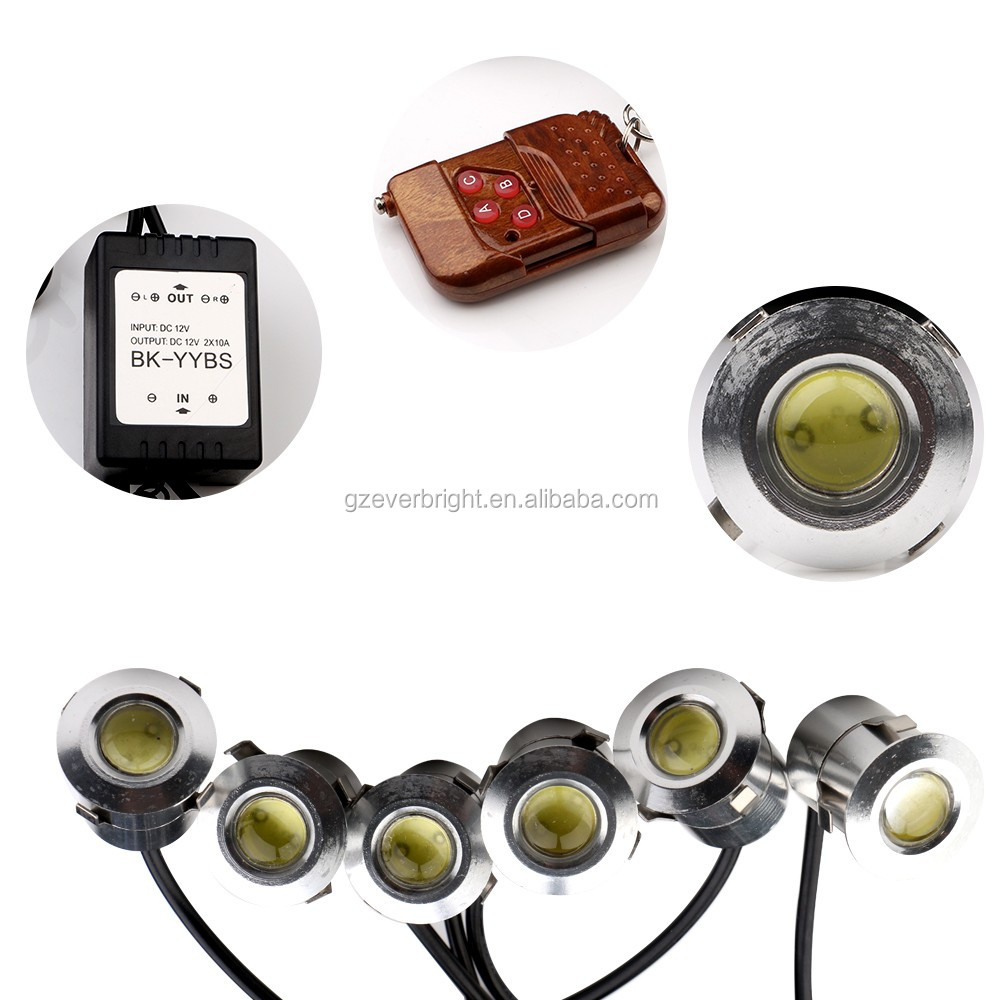 Car Daytime Running Lights 12smd 12V 1.5w led auto drl
