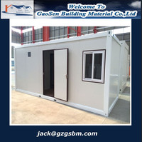 best price expandable flat pack container house