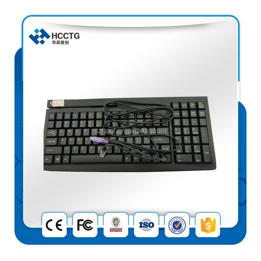 101 Keys Programmable POS Keyboard --KB101B