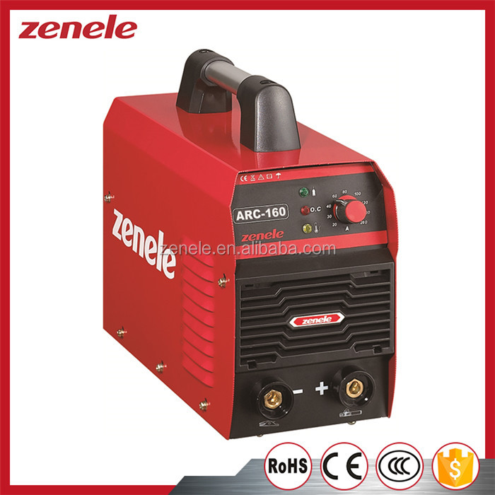 ARC Series China Import Direct Machine Tool Welding Equipment 5.3 KVA 20-160A Mma-160 Welder Machine