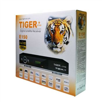 Tiger E150 digital satellite receiver free to air support FTA