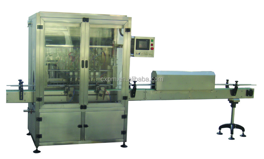 6/12 nozzles automatic linear bottle alcohol/beverage/liquid filling machine