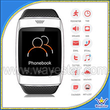 2014 New Design cheap touch screen digital watch mobile phone