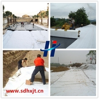 Non woven polyester geotextile fabric for road