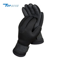 High-grip textured palm neoprene insulate fishing gloves