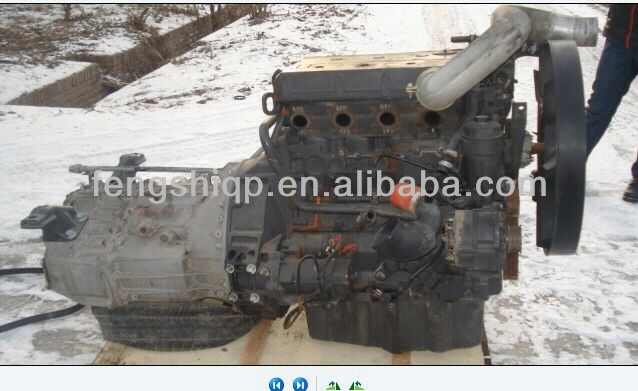 Used bus engine OM904LA assembly