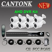 Hot Sell Cantonk 8CH HD AHD DVR System