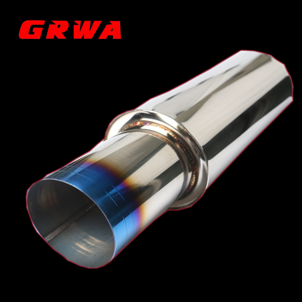 New Style High Quality Stainless Steel Titanium Exhaust Muffler Tips for HKS