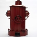 Three color optional retro antique Style imitated Fireplug and Bucket Style indoor iron Dustbin