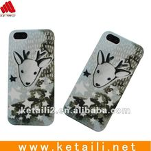 mobile phone case for Iphone5 with water printing craft