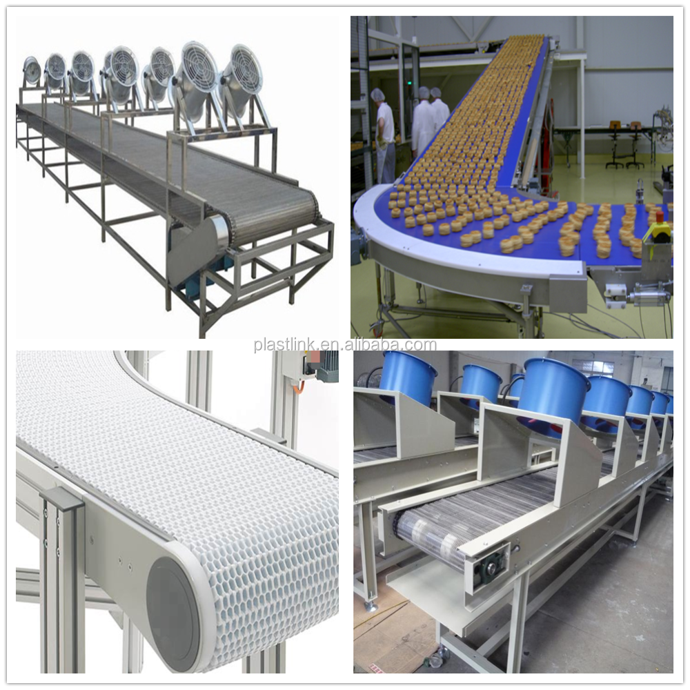 Food cooling belt conveyor for chewing gum/bread/biscuit