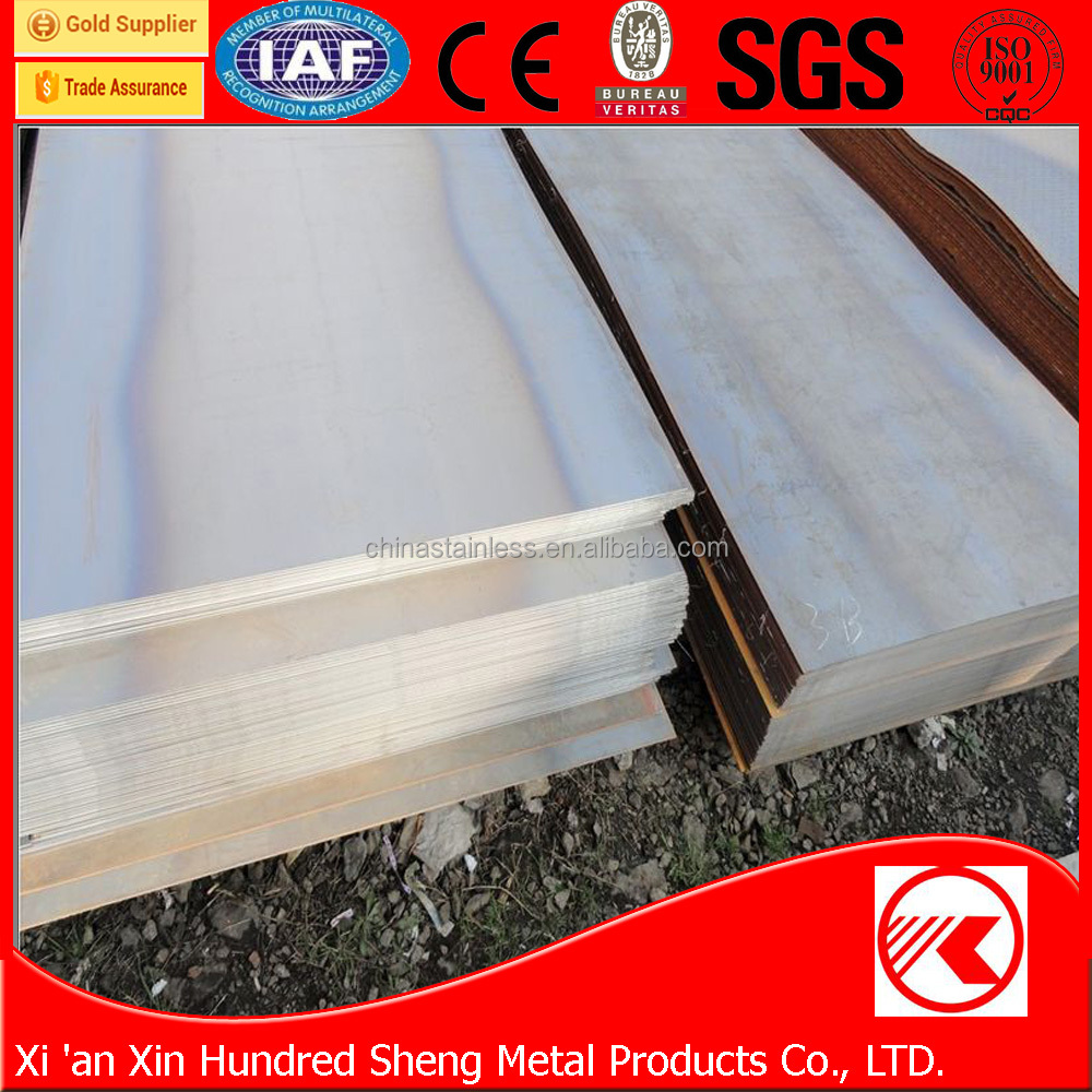 Wholesale price ISO 9001 standard density of carbon steel plate