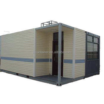 10ft Popular Prefab Shipping Container Office Cottage Moving Restaurant