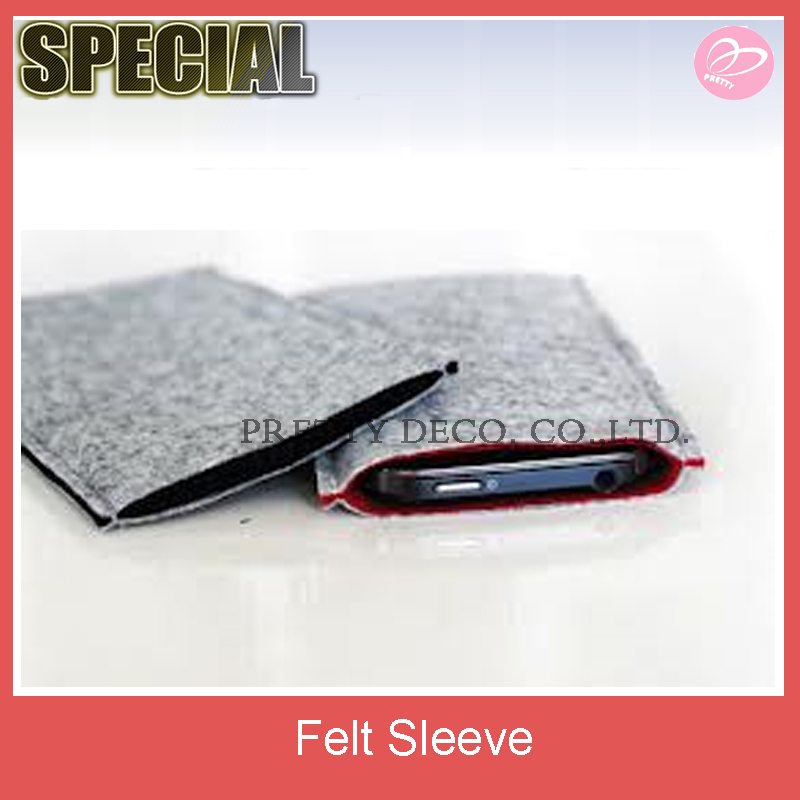 Double color felt mobile phone case ,mobile cover