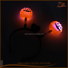 Halloween party favor glow in the dark toys for kids led Pumpkin Headband