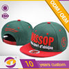 design color matched snapback cap and hip hop hat