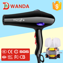 professional cold air hair salon Brushless motor High power hair dryer factory