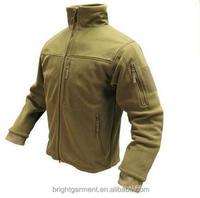 Yellow Military custom fleece jacket