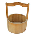 Wholesale Convinence Wooden Barrel With the Handle