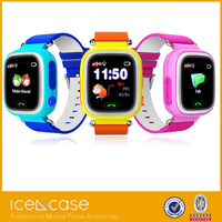 Real GPS WiFi LBS Tracker Kids Smart color display Wrist Watch with Two Way Communication/SOS Surveillance /Voice Remote Monitor
