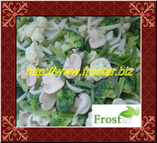 Quick Frozen Mixed Vegetables