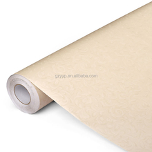 Environmental and Fashionable Paper back adhesive decorative pvc wallpaper for home