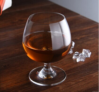 Haonai Brandy Glass Cognac Glasses Brandy Snifter Crystal Glass Mondial Stemware Collection