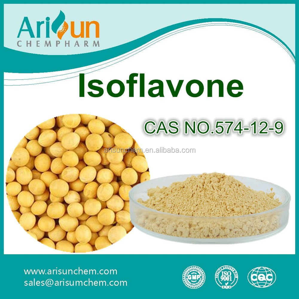 Factory Supply Soybean Isoflavone CAS NO. 574-12-9
