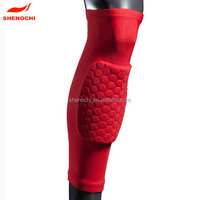 Compression Knee Sleeve And Honeycomb Arm