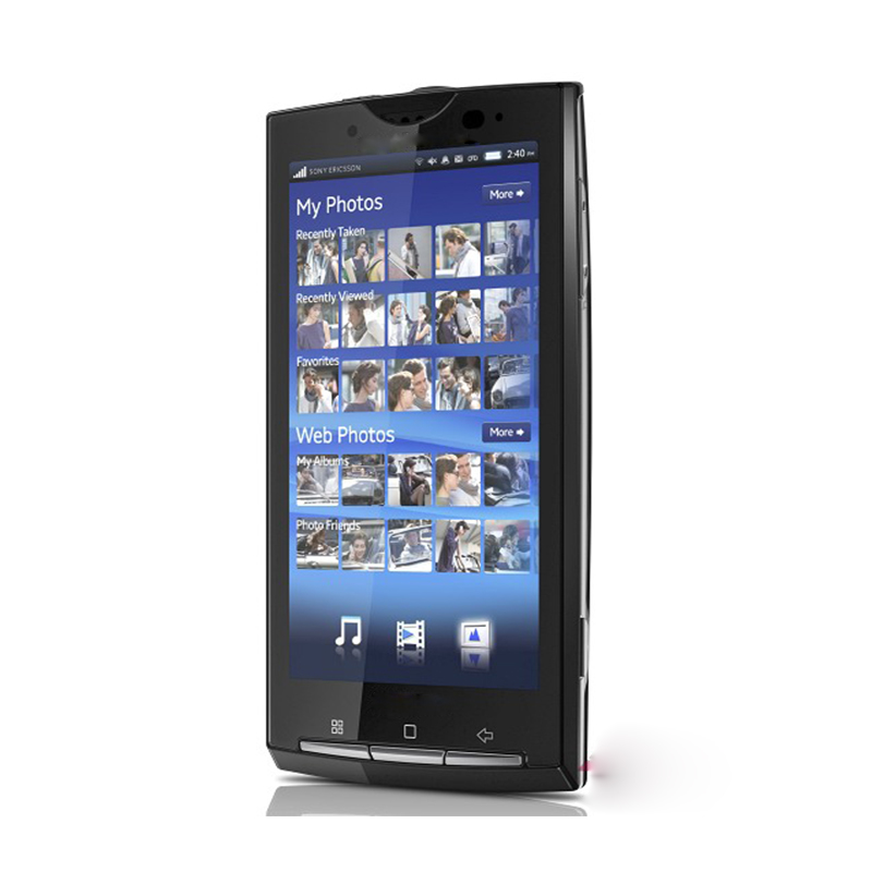 wholesale refurbished feature phone for <strong>Sony</strong> Ericsson Xperia <strong>X10</strong> GSM 850 / 900 / 1800 / 1900 Mobile phone