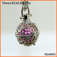 Wholesale Seed of life harmony necklace fashion Mexican bola Flower of life pendant for pregnant