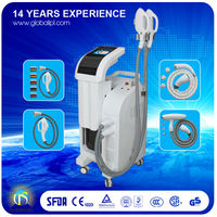 electronic multifunction beauty equipment E light/RF/Nd-yag laser/ipl hair removal