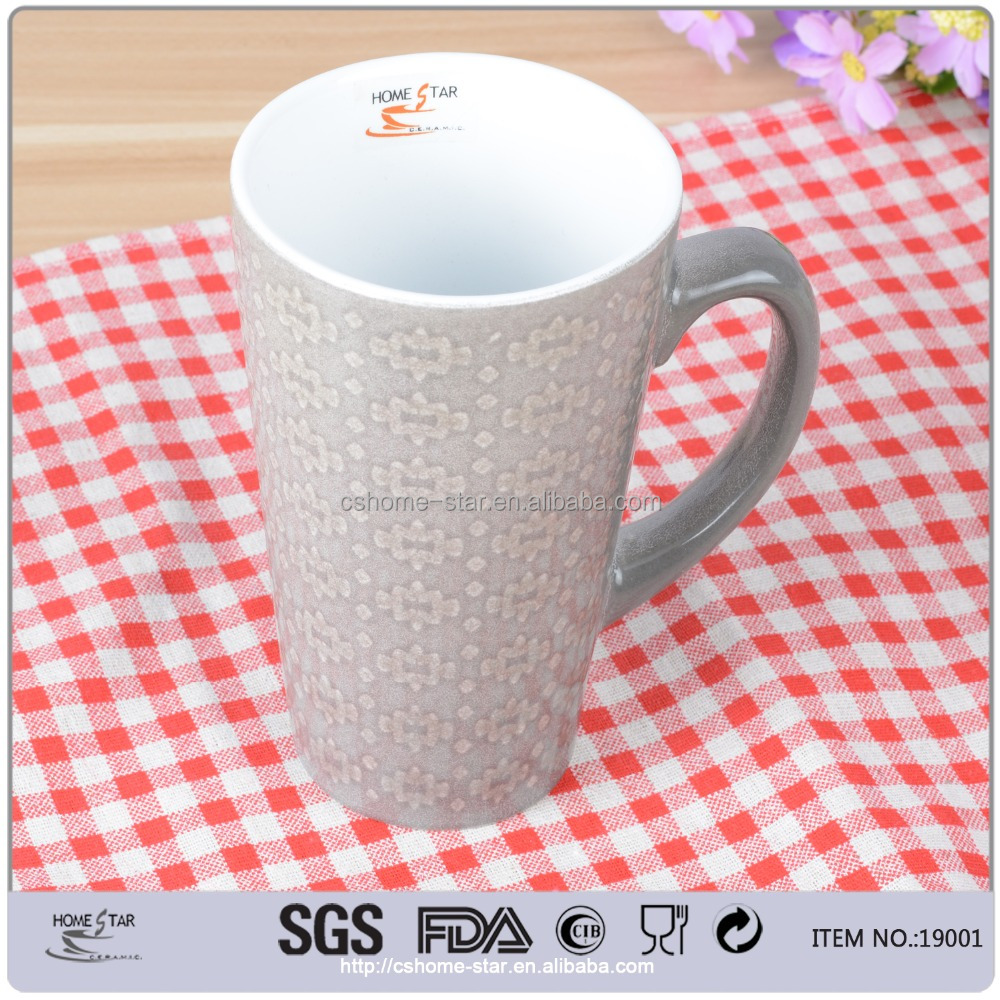 cheap price dollar store 430ml ceramic mug