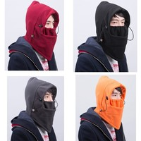 Cheap Printed Knitted Motorcycle Balaclava