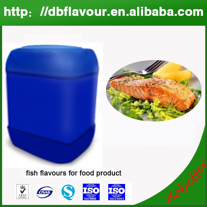 Wholesale fish flavours for food products, concentrated liquid fish food flavours