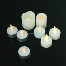 Battery operate flameless led candle light/paraffin wax Led candle/led tea light
