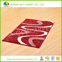 Microfiber polyester shaggy straw mat carpet rug importers