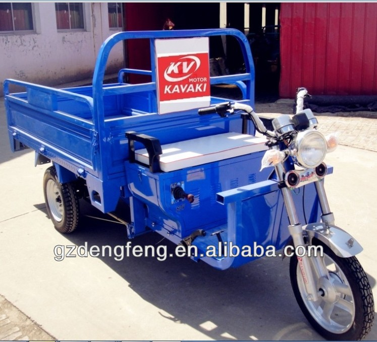 Chinese Manufacture three wheels tricycle /pretty shape electric tricycle for cargo