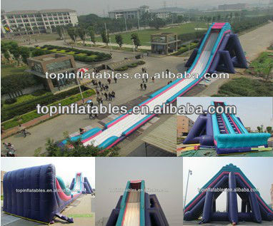 Hot sale giant inflatable water slide, hippo slider, inflatable hippo water slide