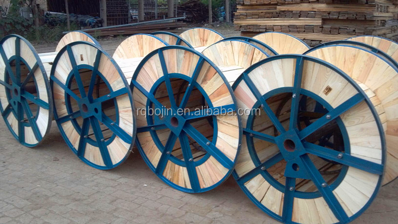 Bojin Steel Wooden Cable Reel For Wire Packaging Buy