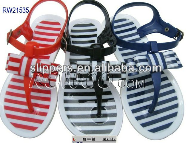 RW21535 Girls PVC Injection Sandals