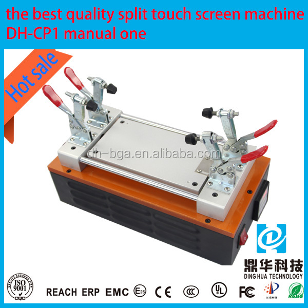 Touch Screen Panel LCD Separator Glue Disassemble Machine For Mobile