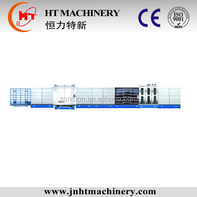 Insulating Glass Washing Machine CE Certification Vertical Outside Assembly Flat Pressing line