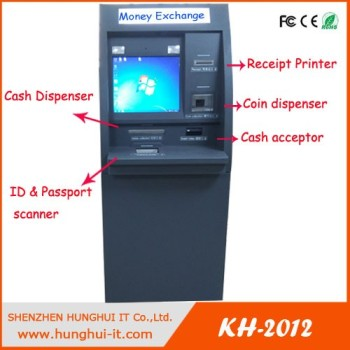 Factory production Touchscreen Cash Dispenser Acceptor Automatic Payment Vending Machine Kiosk