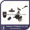 electric golf trolley stainless steel wheels golf trolley