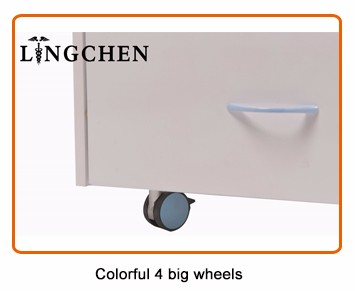 Italy design mobile dental cabinet for clinic (marble dental cabinet)