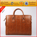 2017 customized design crazy horse ladies leather bag china