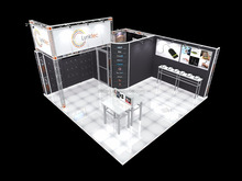 modular trade show exhibition booth display design and contractor from china factory