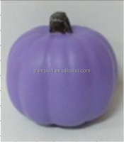 2018 Best Selling Items halloween easy plastic decorative pumpkin with Craft Harvest Matte Purple