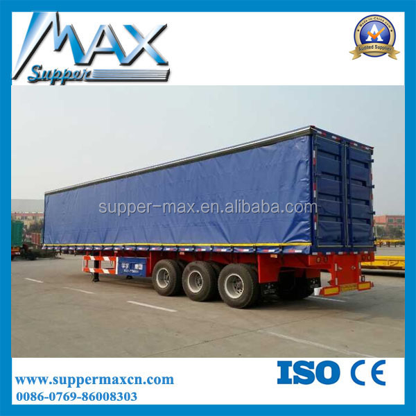China manufacturer 40f transportation box Trailer for sale
